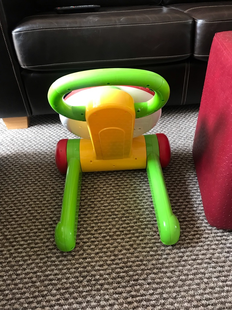 ELC push along light up walker