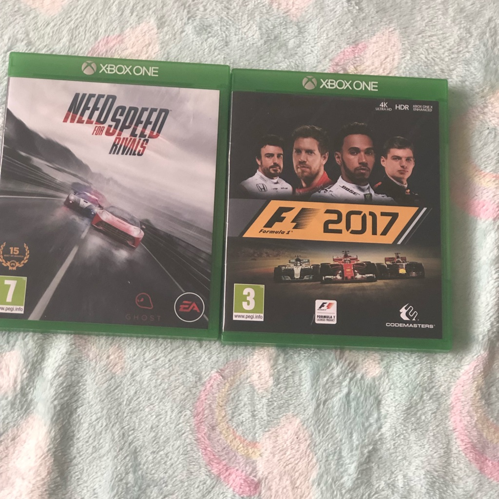 XBOX ONE GAMES PRELOVED
