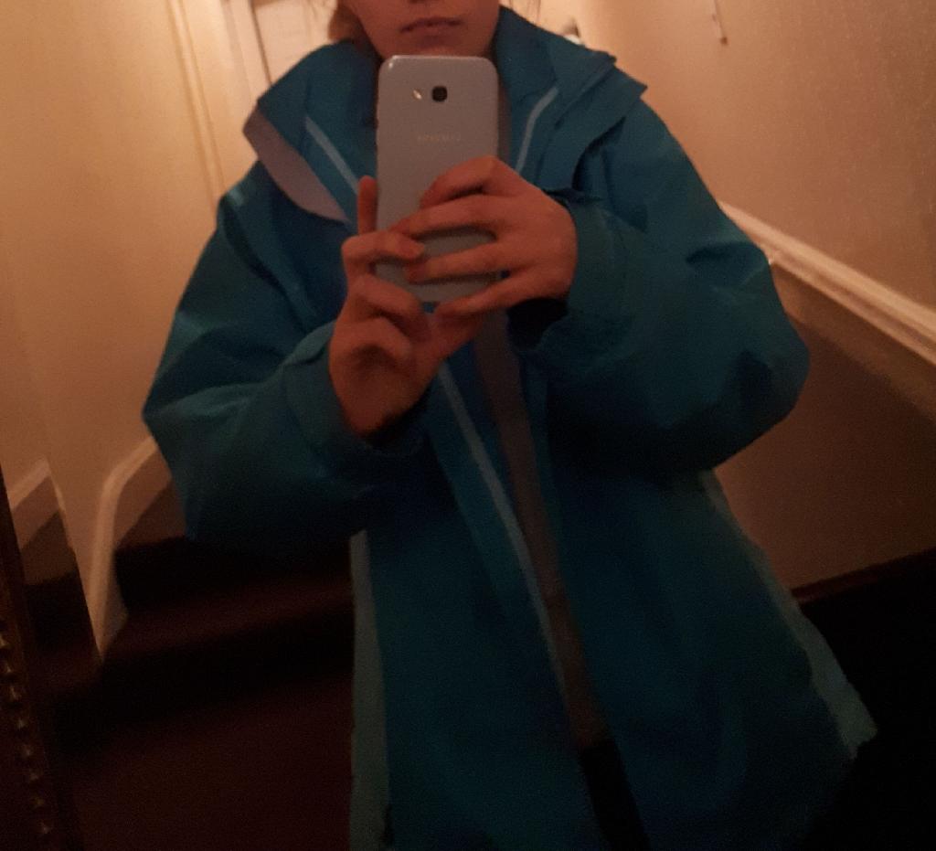 Trespass rain coat size small