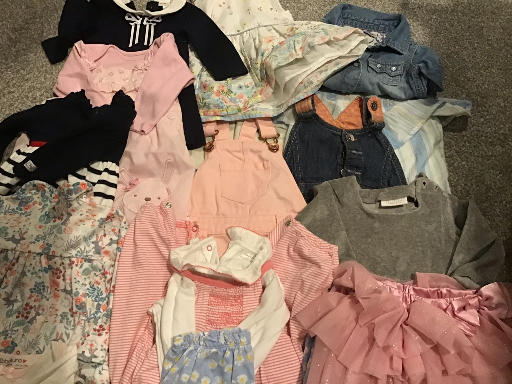 Bundle of dresses 0-3months immaculate all brand names