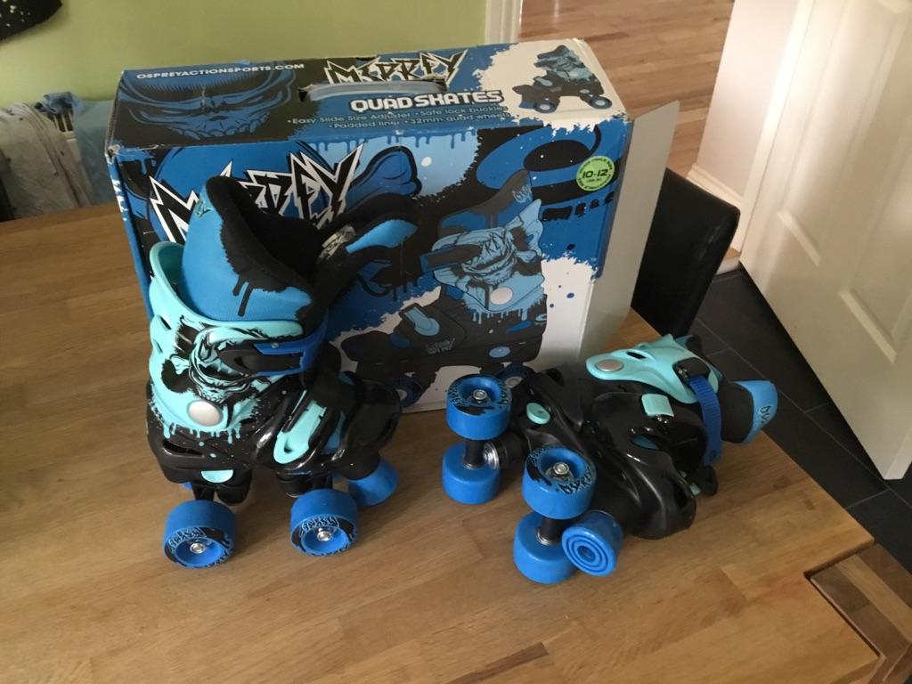 Brand new adjustable quad skates