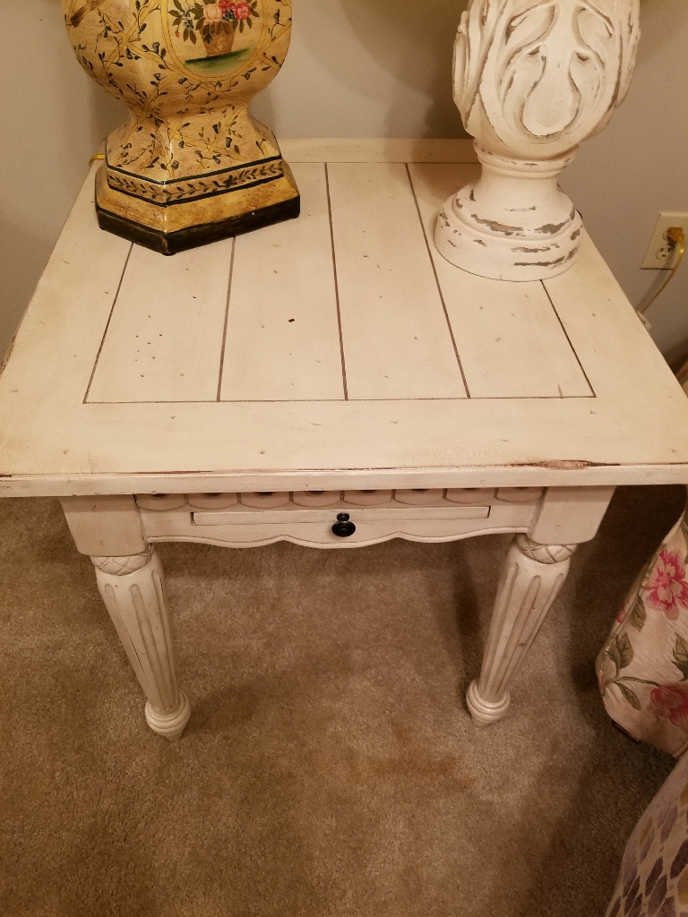 Hutch,two Coffee Tables, end table they all go together