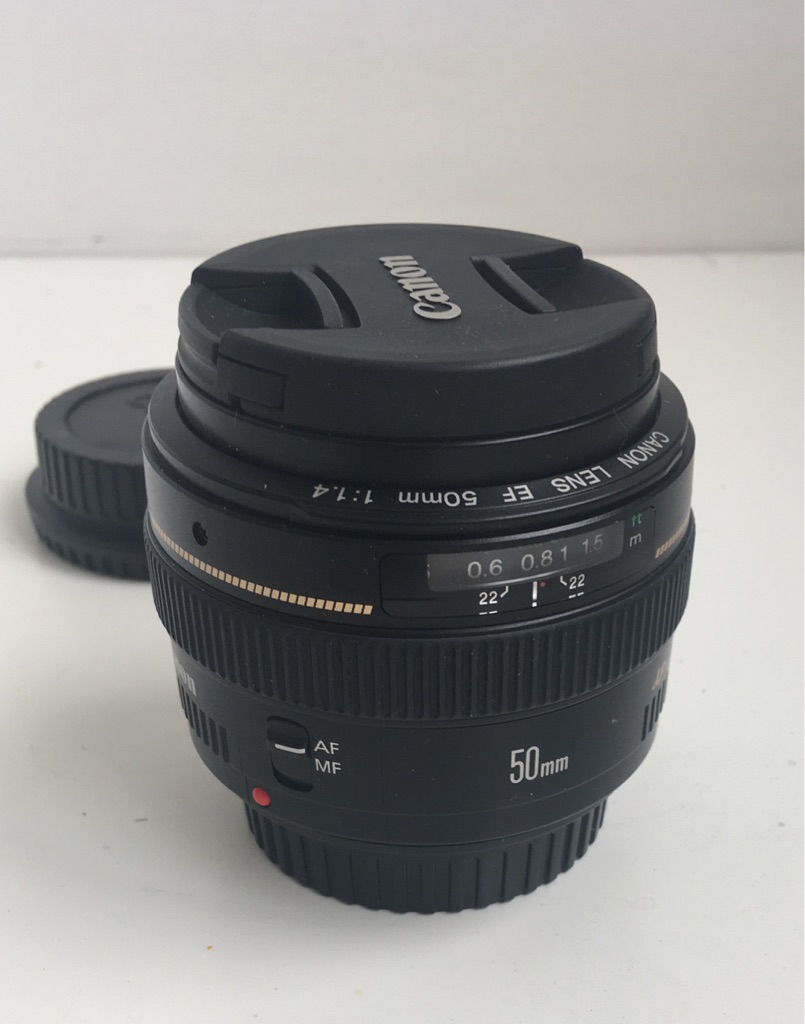 Canon Camera Lens EF 50mm F 1.4 USM