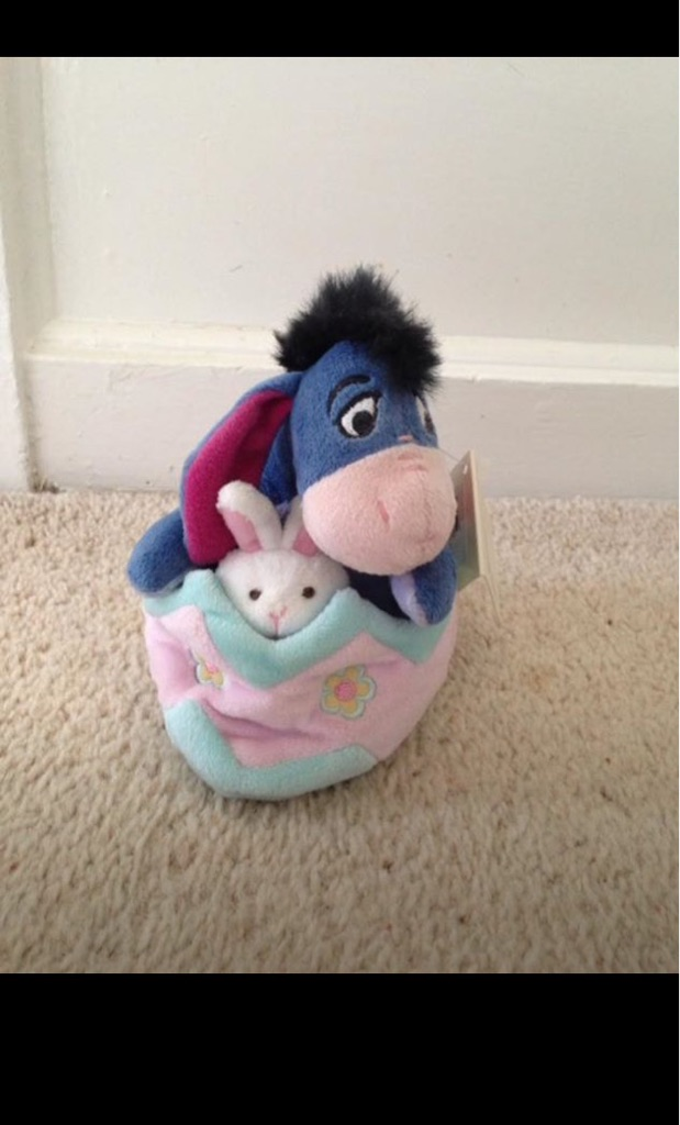 Disney Exclusive Easter Eeyore Teddy