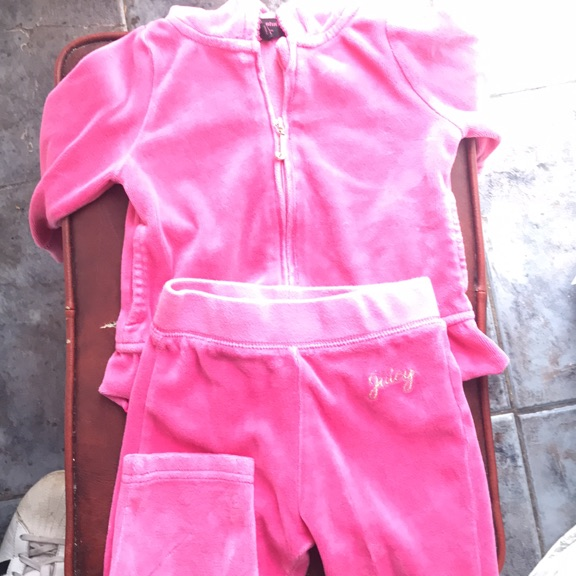 6 months Brilliant condition juicey tracksuit pink