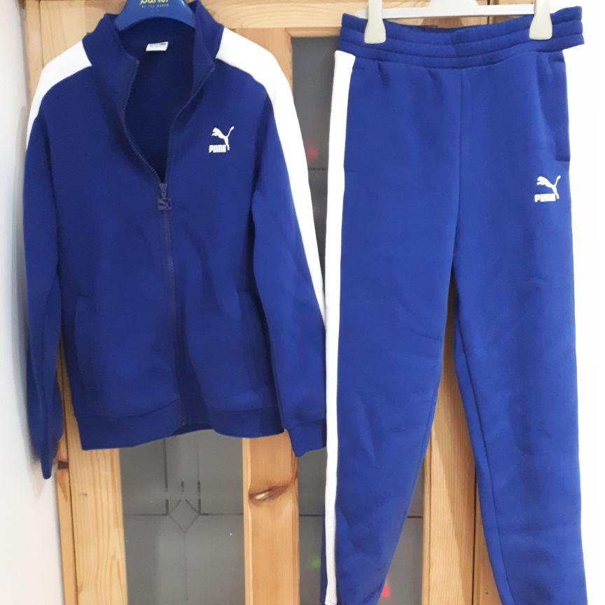Blue puma tracksuit size 11-12
