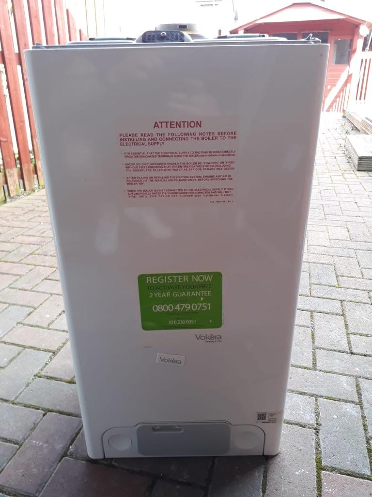 VOKERA -gravity fed boiler