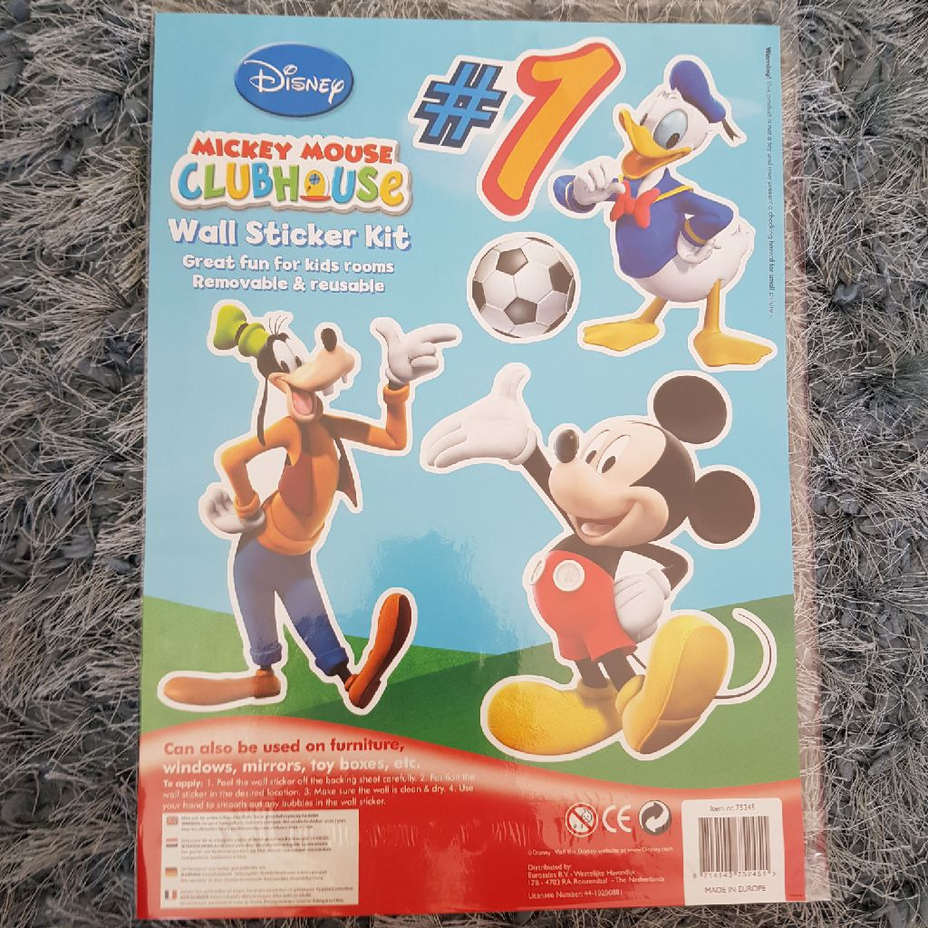 Brand new mickey mouse wall stickers