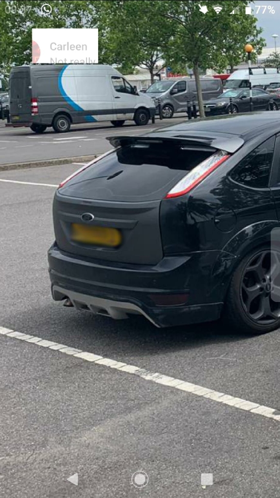 Ford focus mk2 rear bumper
