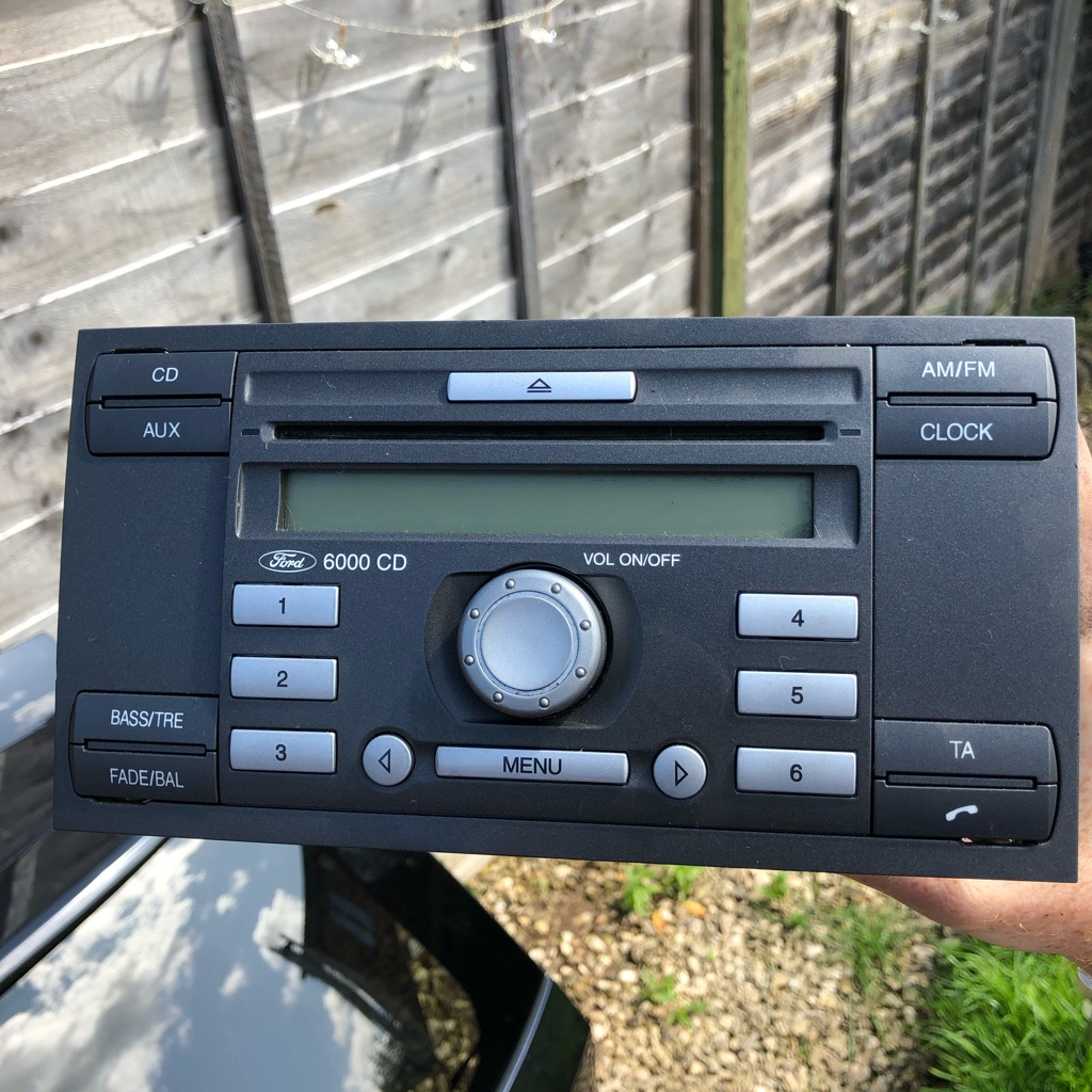Ford 6000 Cd Player & Code