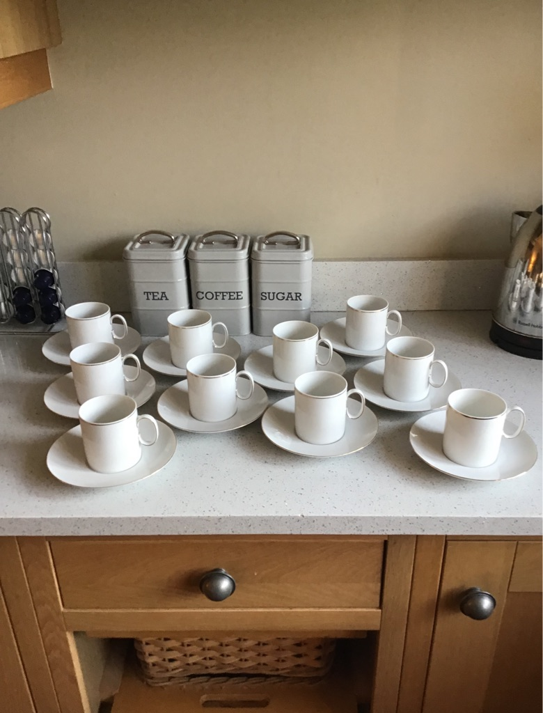 Thomas China cups and saucers