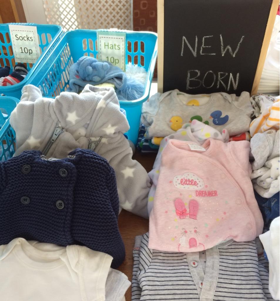 Unisex newborn baby bundle