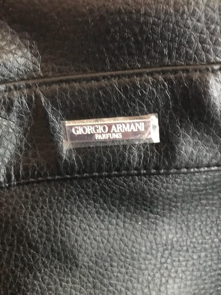 Giorgio Armani sports bag