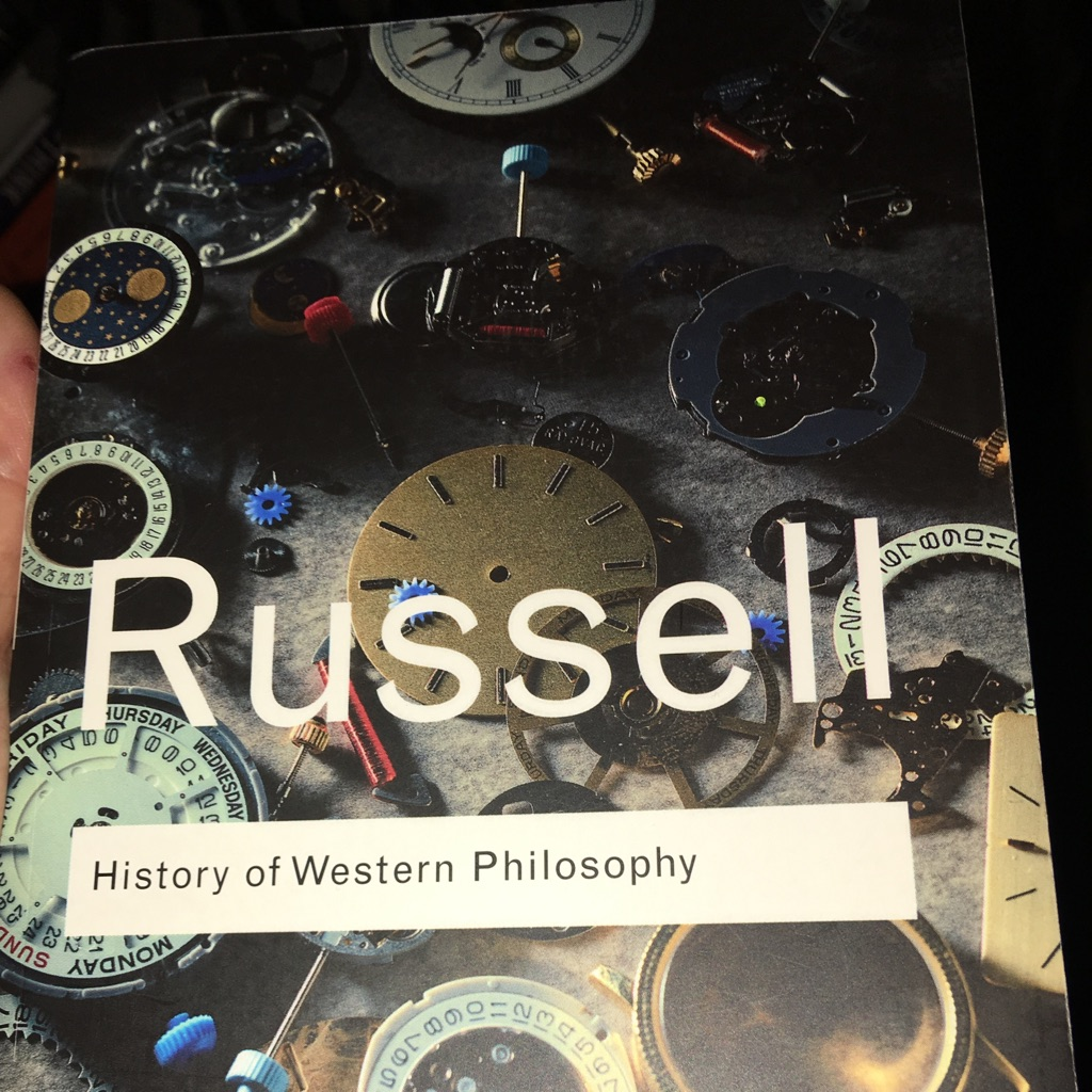 History of western philosophy by Bernard Russell