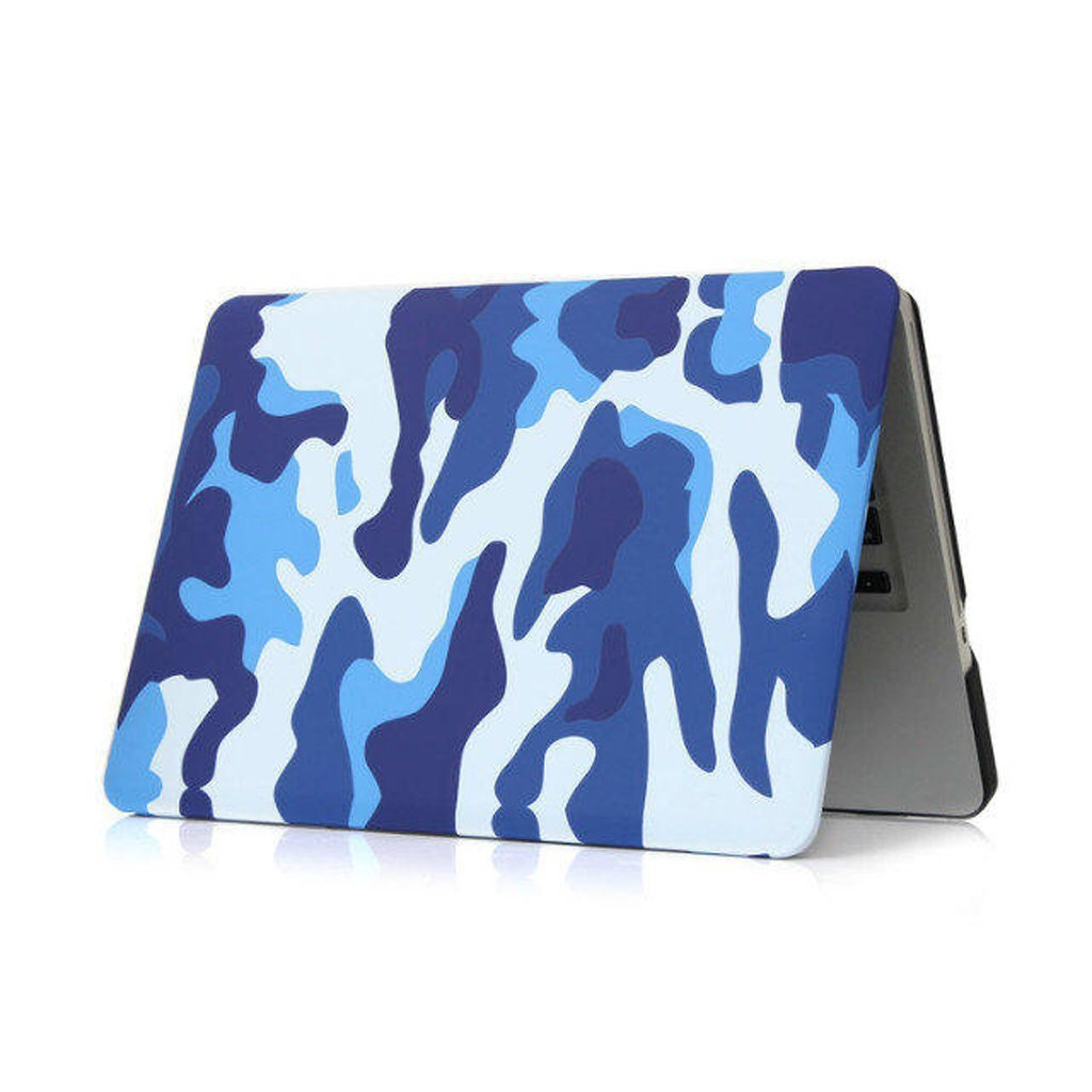 Blue Camo MacBook Pro Case