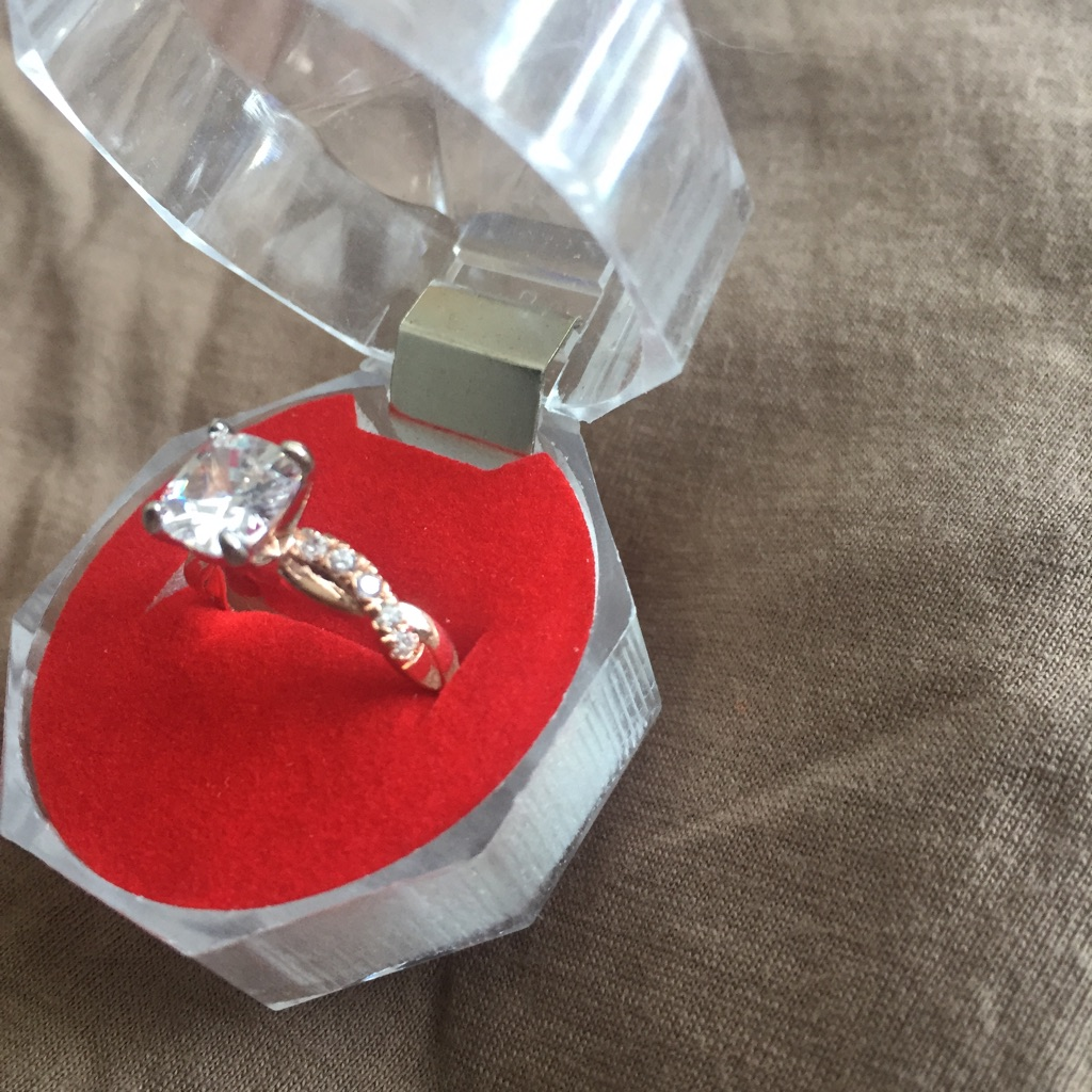 Two tone ring size 5