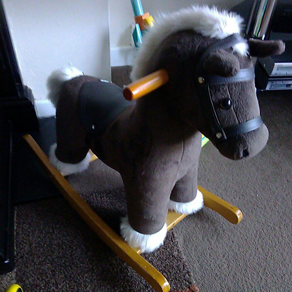 Mama's and papa's rocking horse