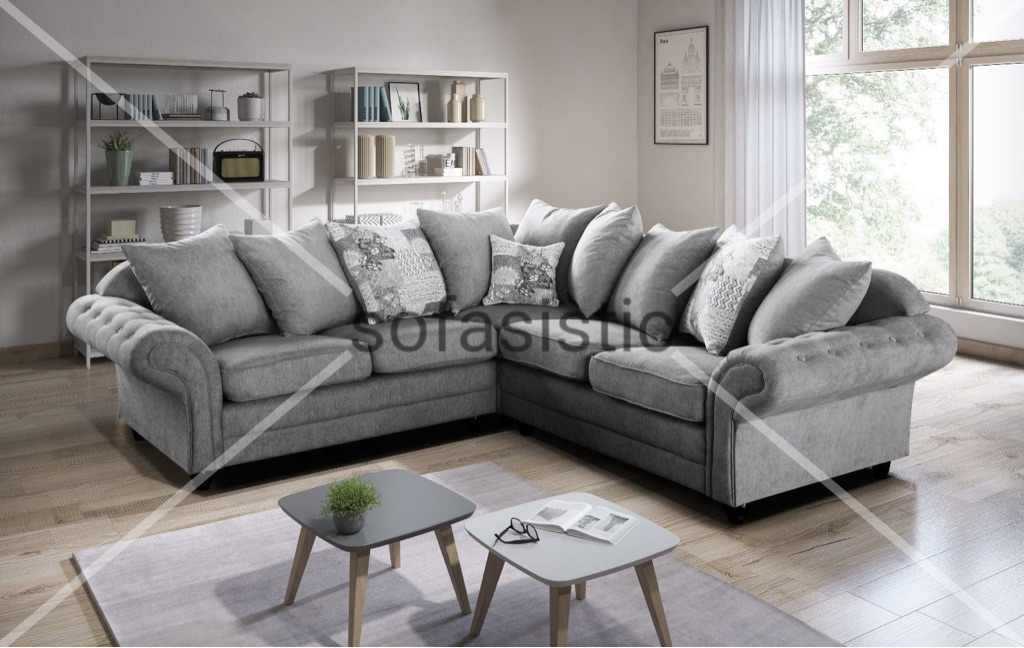 Luxury Nicole corner sofa