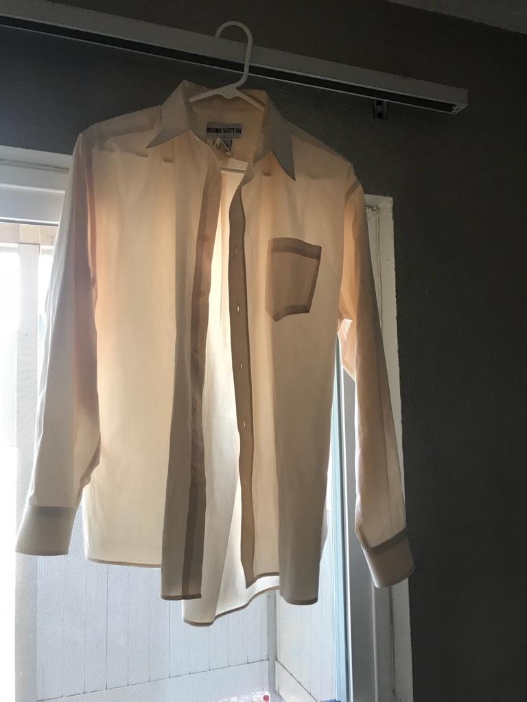 Men's Bruno Satchi long sleeve button up shirt