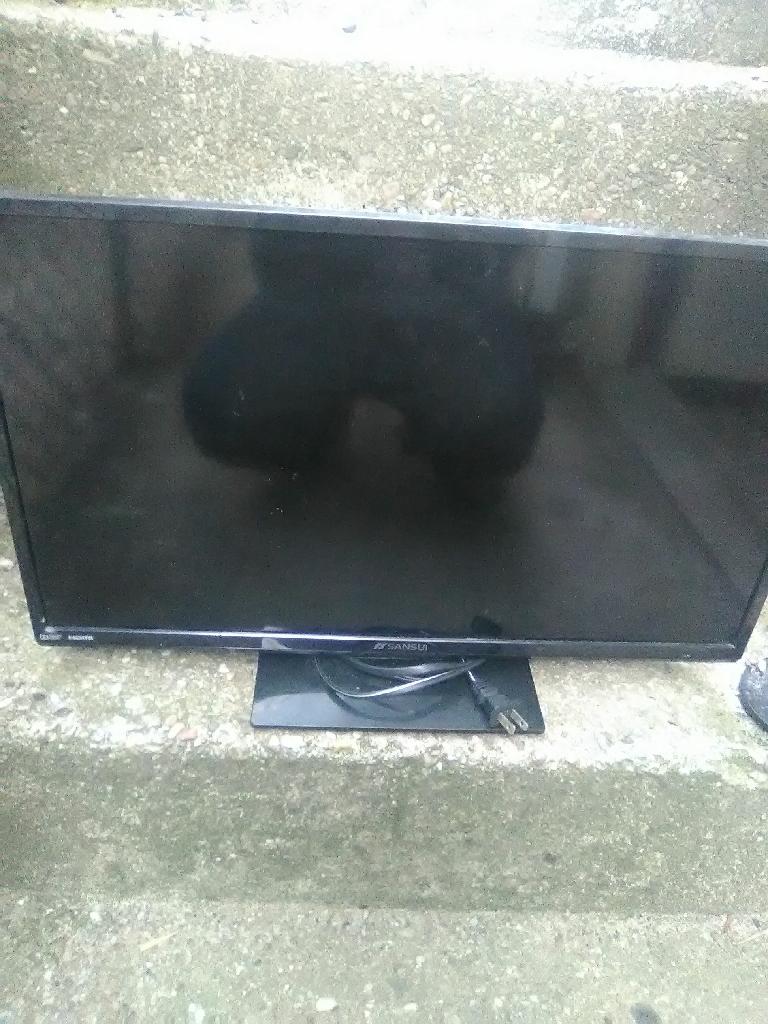 Flat screen TV dvd player