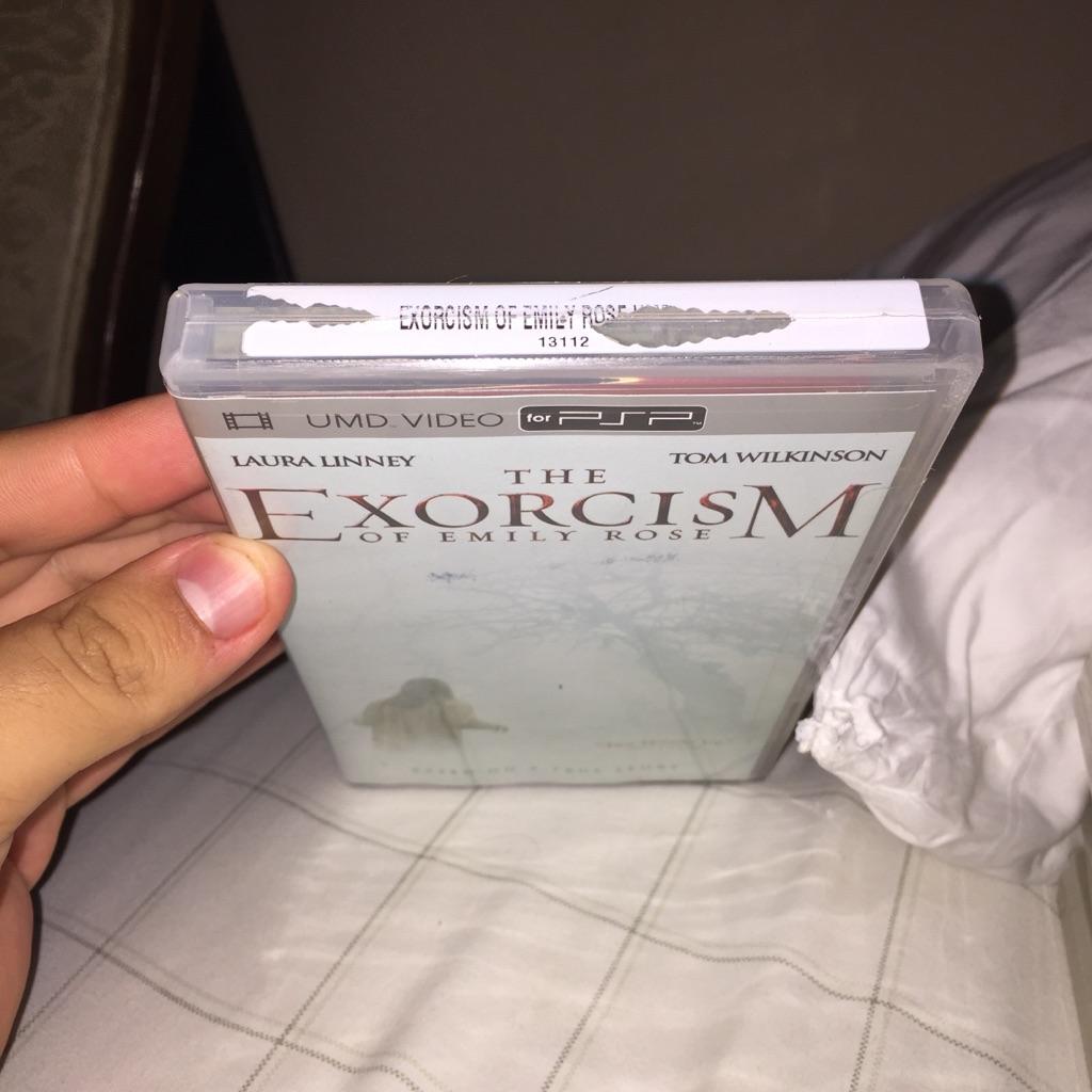 Brand New The Exorcism Of Emily Rose PSP movie