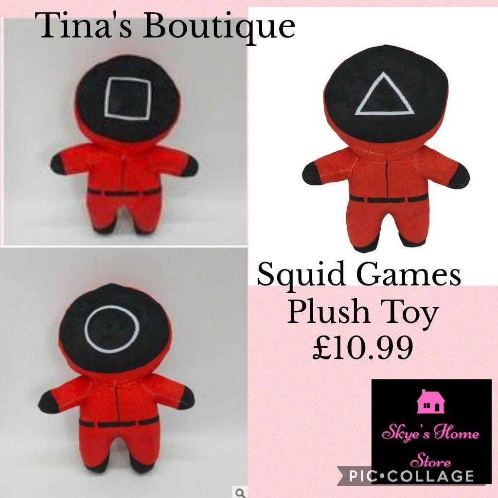 Squid Games Plush Toy