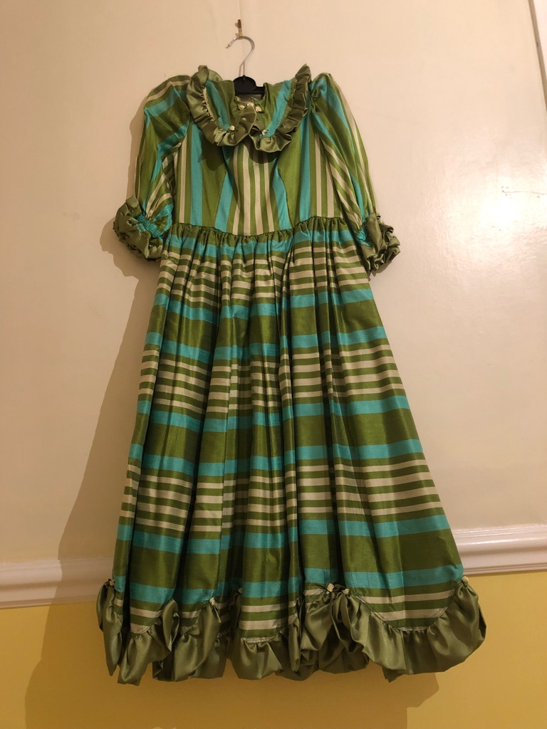 Vintage girls ball gown