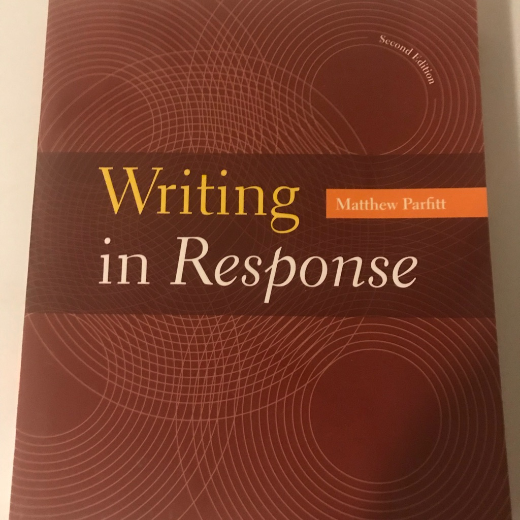 Writing in response textbooks