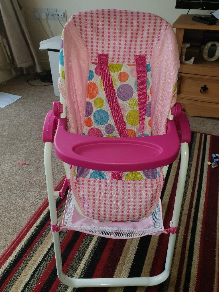 Babydoll highchair