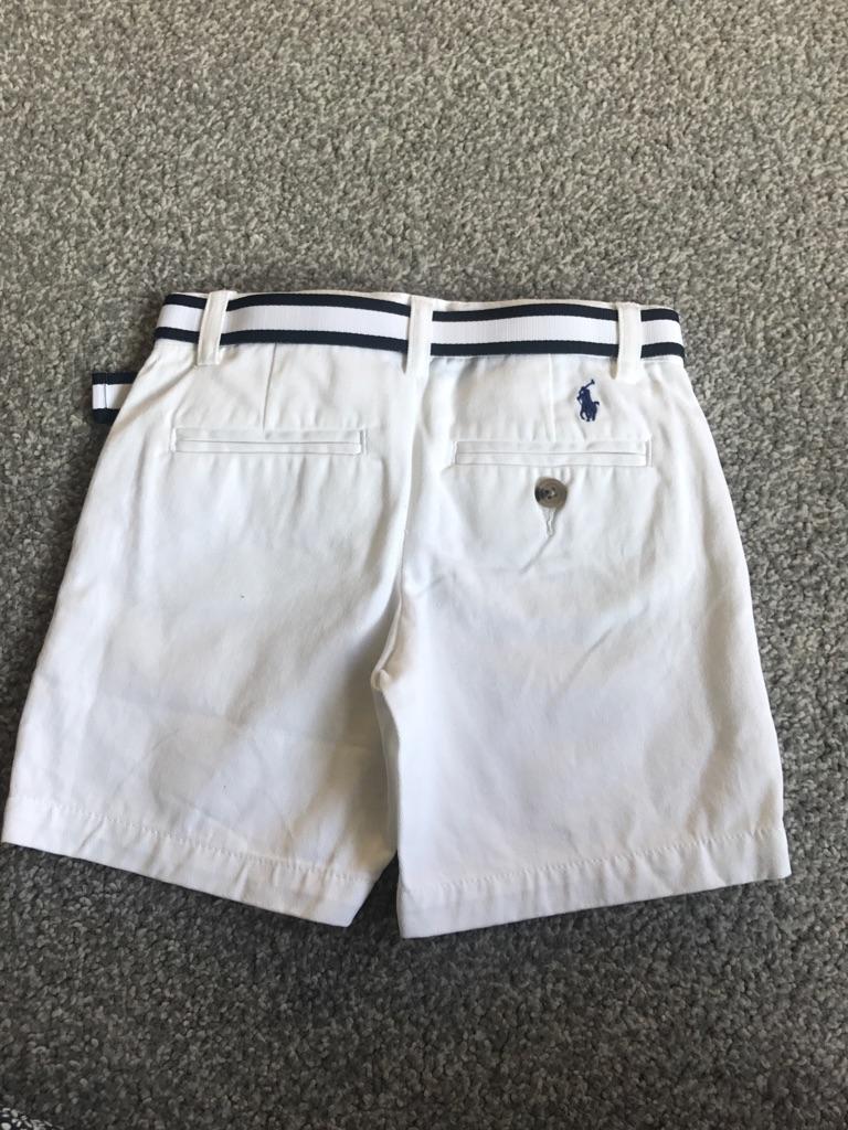 Designer Ralph Lauren boys shorts