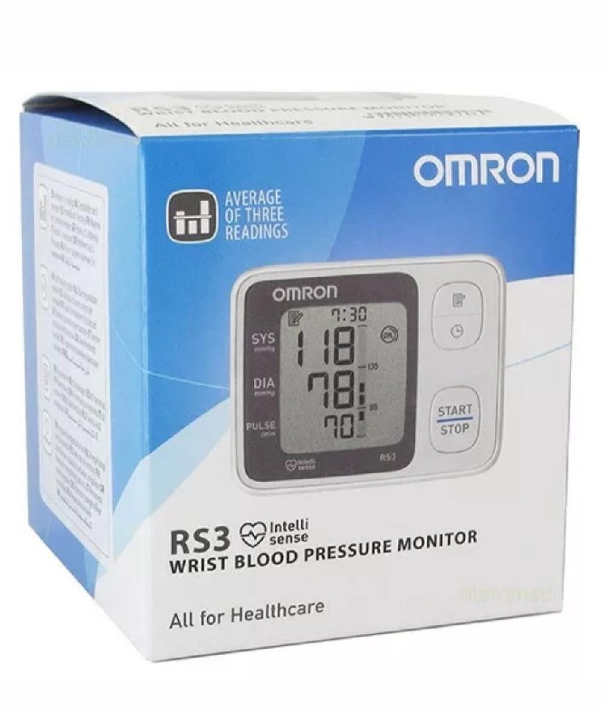 BRAND NEW Omron RS3 Intellisense Wrist Blood Pressure Monitor