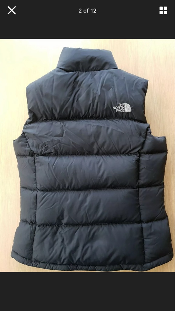 north face womens gillet