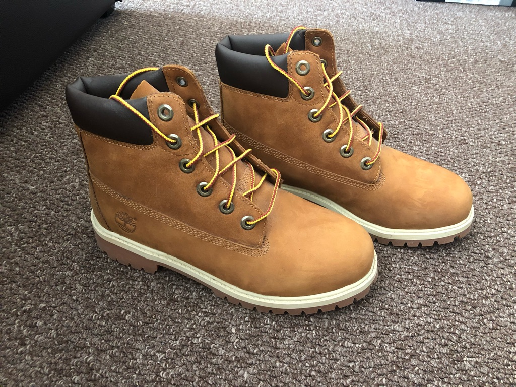6inch dark brown timberland