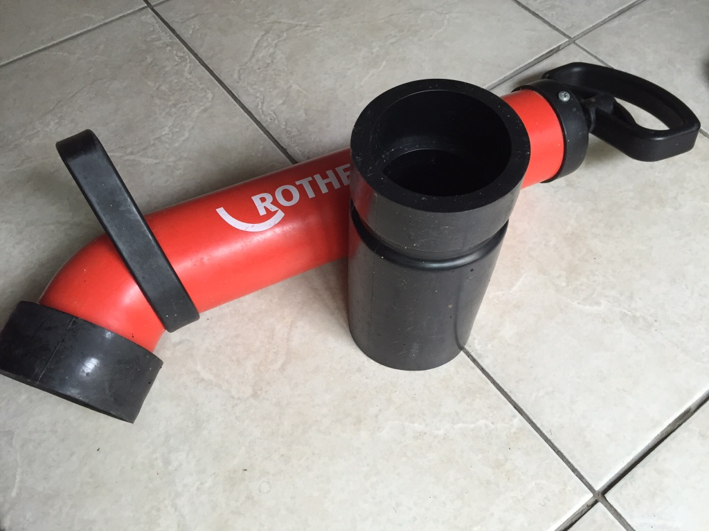 Rothenberger 7.2070 Ropump Super Plus Force Pump (for clearing sink blockages)