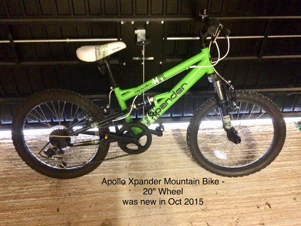 Boy's Apollo Xpander mountain bike