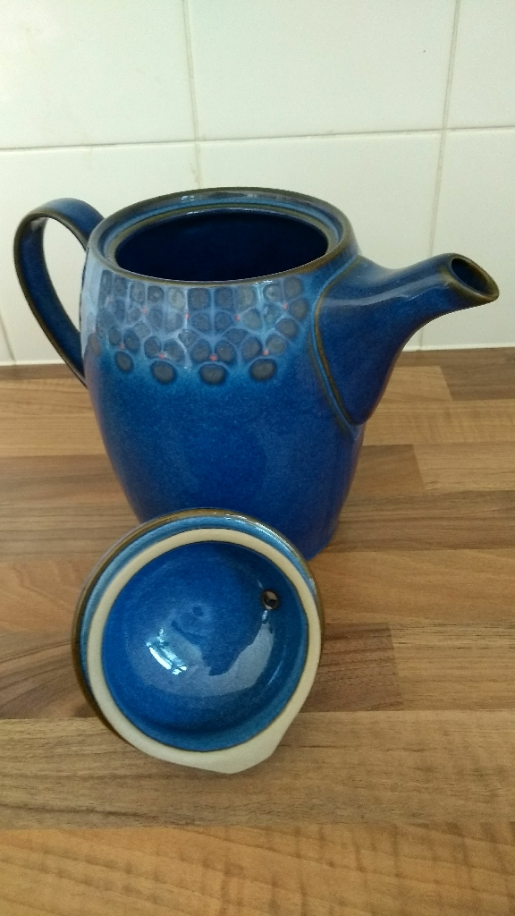 Selection of Denby midnighy blue tableware. Buy together or separately