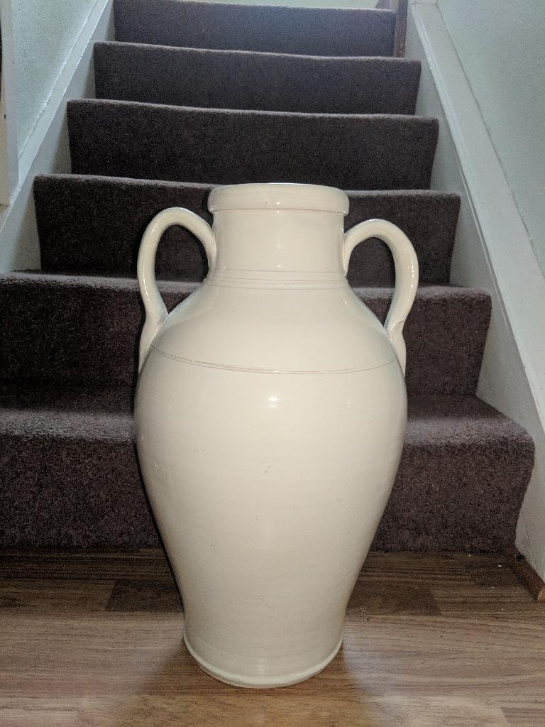 Large china urn
