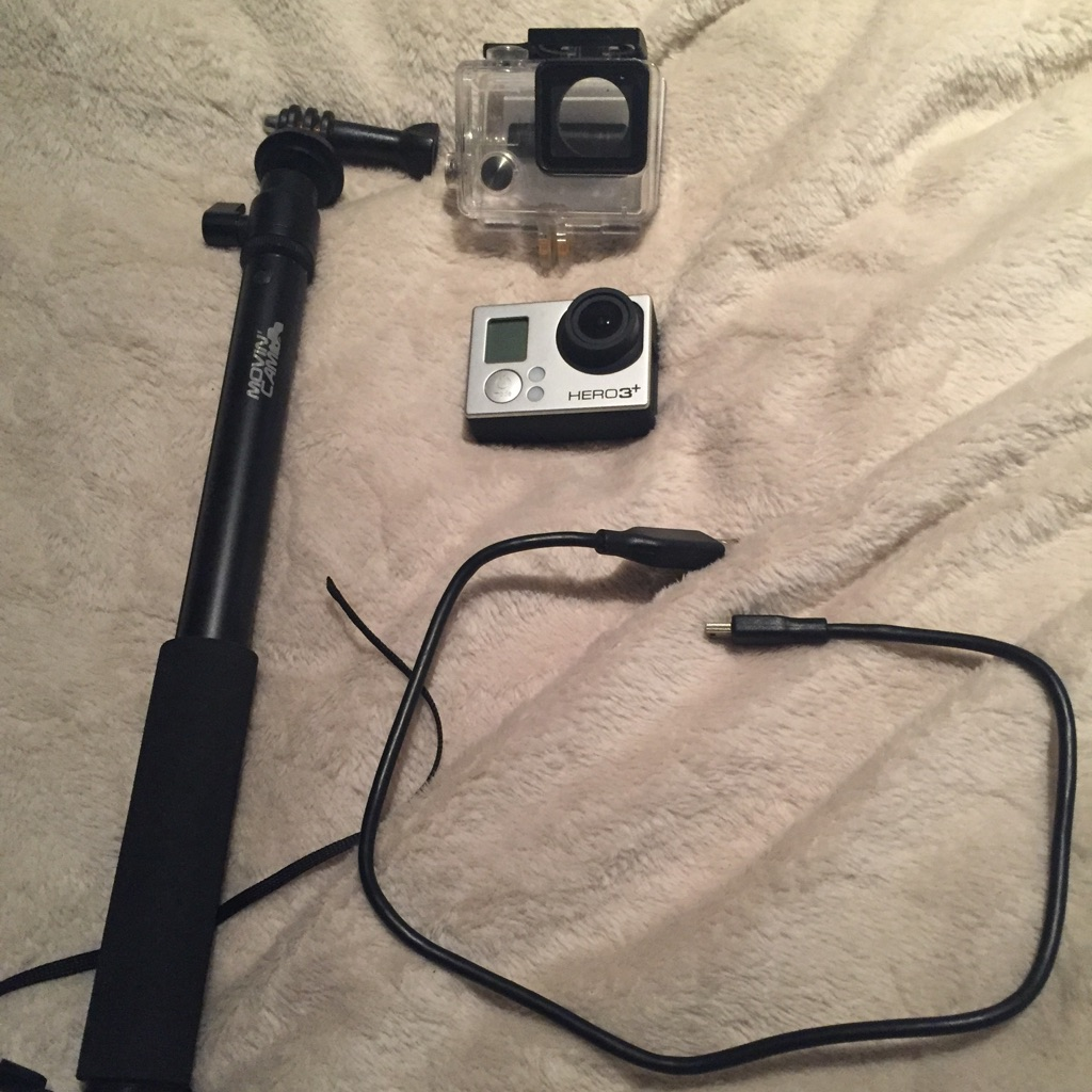 GoPro Hero 3+ and handle