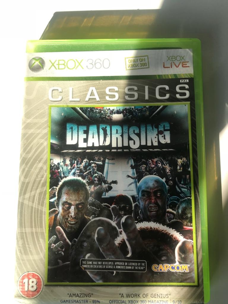 Deadrising Xbox 360 game