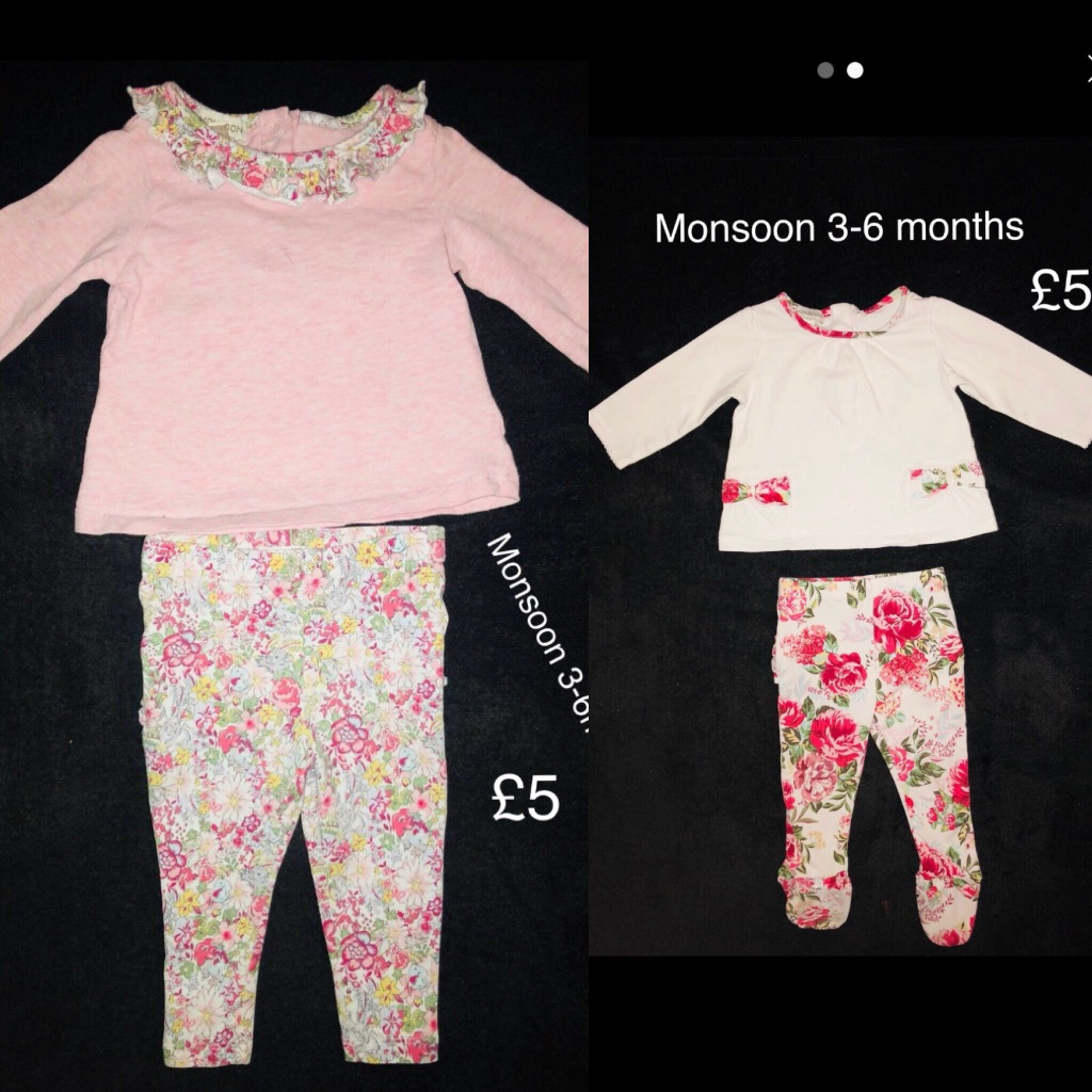 Girls 3-6 monsoon outfits