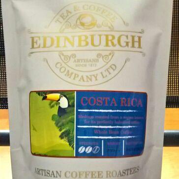 Edinburgh Costa Rica Whole bean coffee