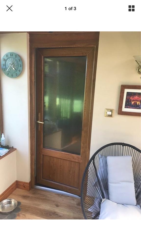 External double glazed door