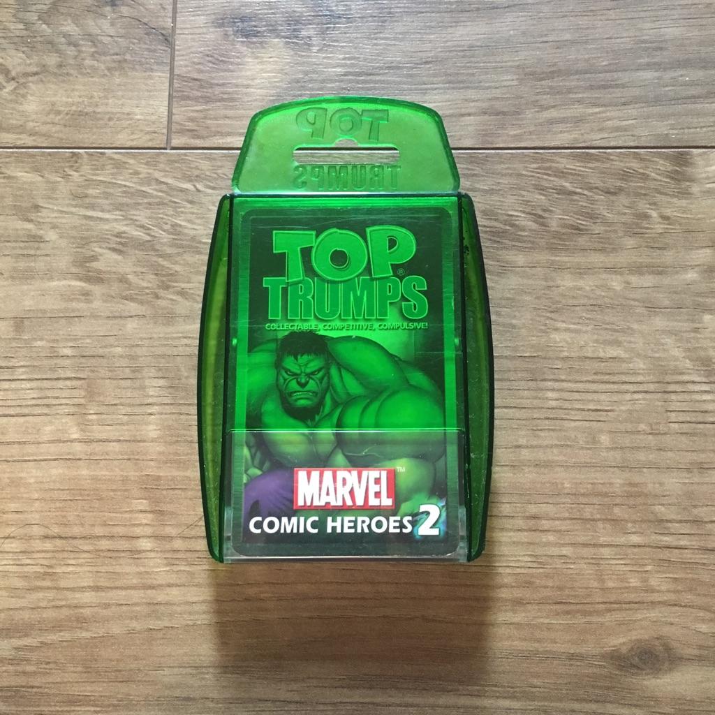 TOP TRUMPS MARVEL COMIC HEROES 2