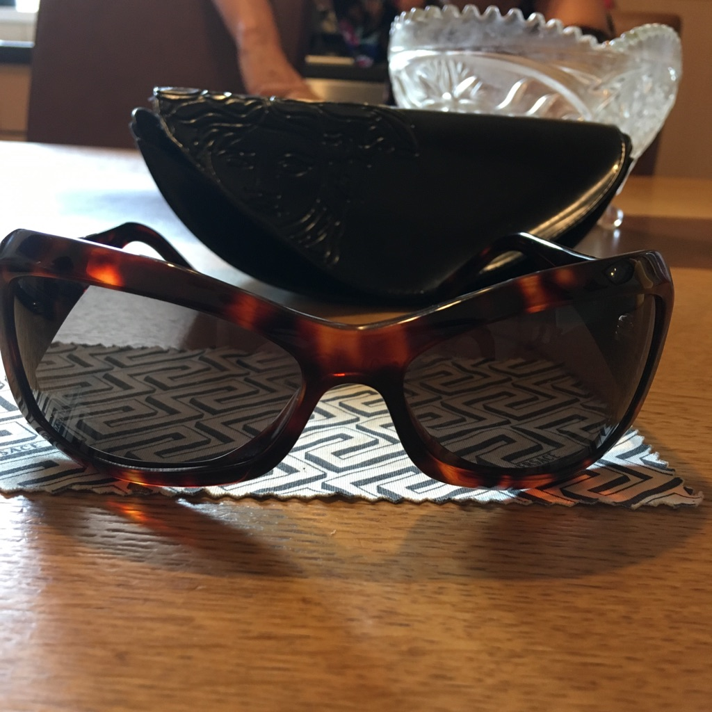 Women's genuine Versace sunglasses