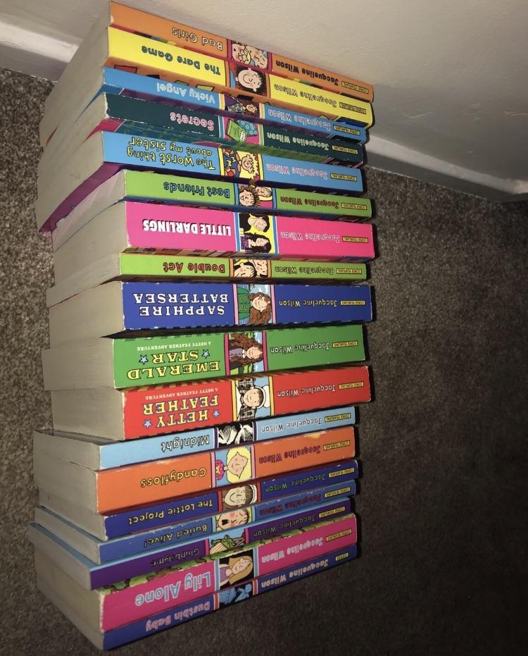 Jaqueline Wilson book set