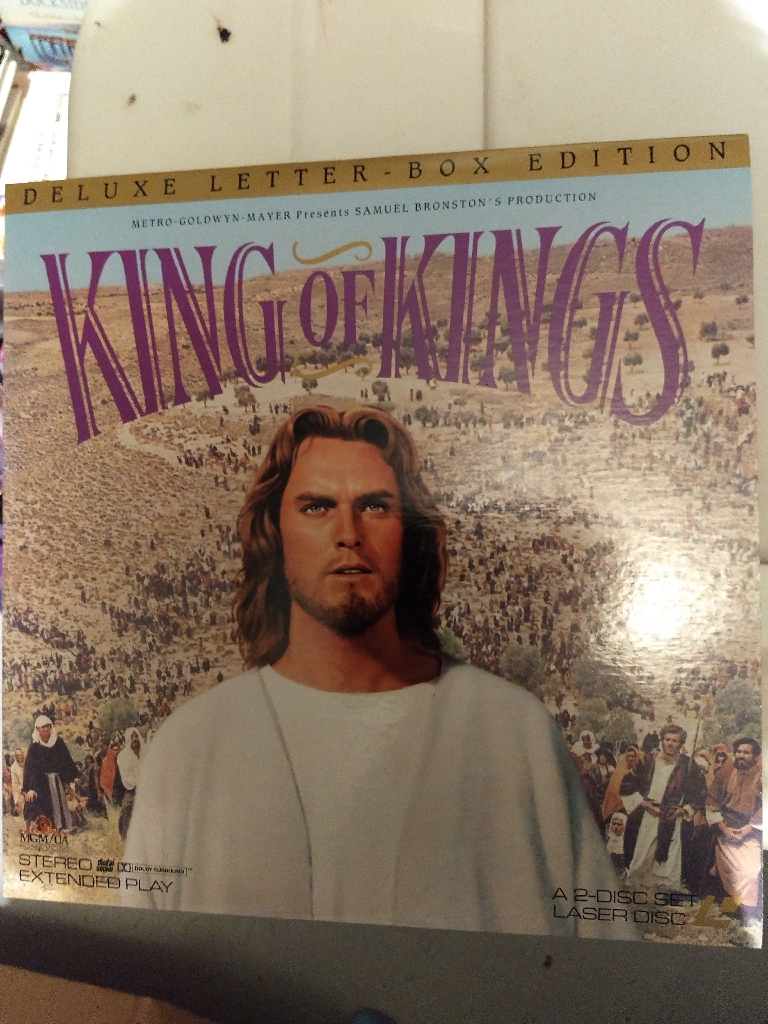 King of Kings Laser Disc