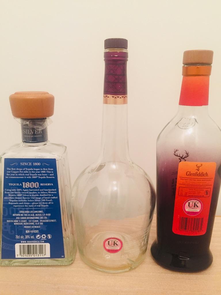 Empty bottles ### 3