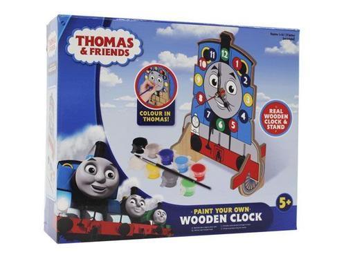 Thomas & friends paint your own clock