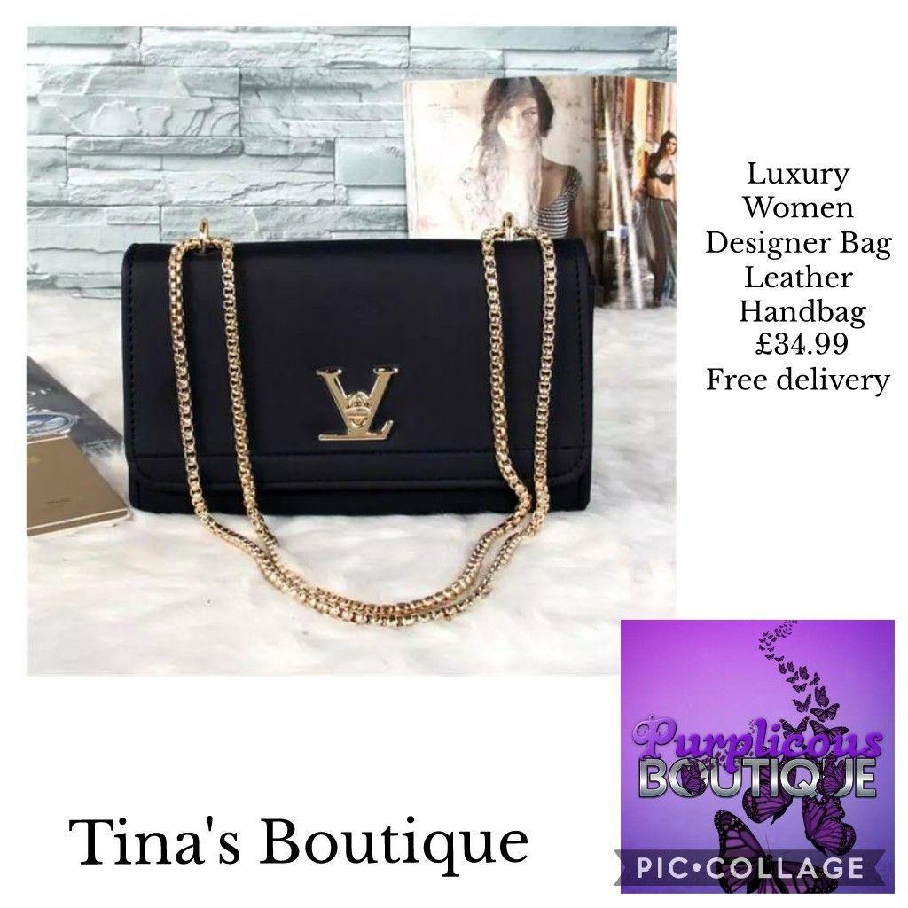 Luxury Women Designer Bag Leather Handbag