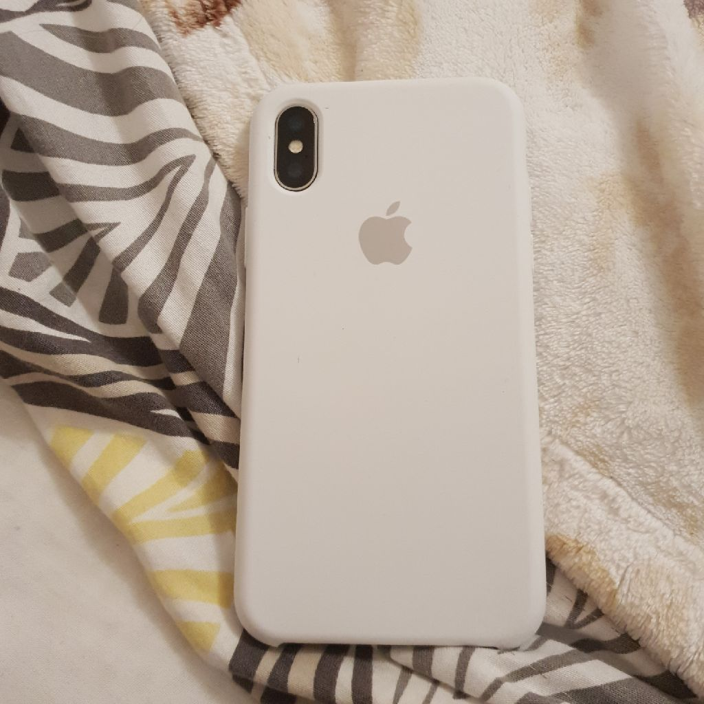 Iphone X - Apple case - White